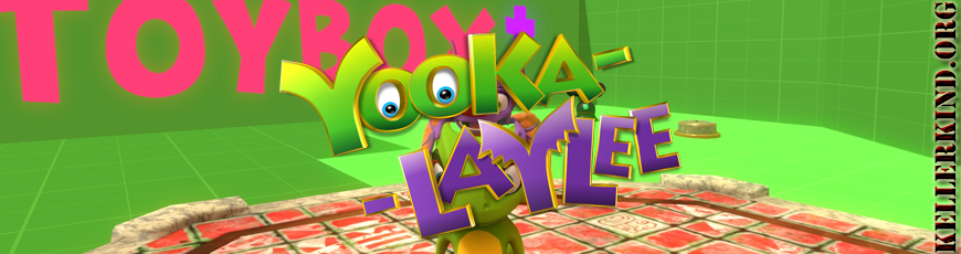 #001 – Kellerkind.org LIVE @ YouTube Gaming: Yooka-Laylee ToyBox